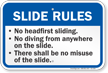 Michigan Slide Rules Sign