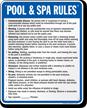 Minnesota Pool And Spa Rules Sign