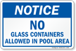 Notice Pool Sign