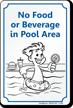 Novelty Pool Sign