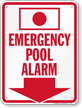 Emergency Pool Alarm (with Arrow)