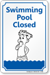 Novelty Pool Sign