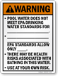 Utah Health Risk Pool Warning Sign