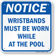 Swimming Pool Rules Notice Sign
