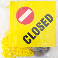 Janitorial Kit For Closed Sign
