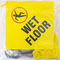 Wet Floor Sign, Magnet Rings, Hook, Chain