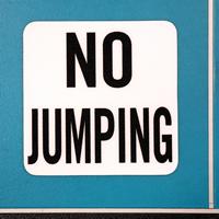 Swimming Pool Marker,No Jumping
