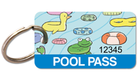 Rectangular Pool Pass