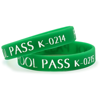 Kids Pool Pass With Consecutive Numbering
