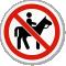 No Horse Riding Symbol ISO Prohibition Circular Sign