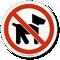 No Pets Allowed Symbol ISO Prohibition Circular Sign