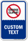 Customizable Pool Safety Message Sign with Graphic