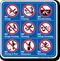 Pool Rules Symbol Sign